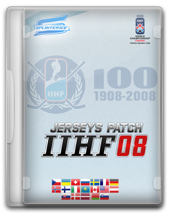 Патч Форм IIHF 2008/Jerseys Pack IIHF 2008