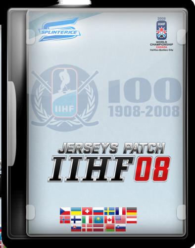 Скриншот для Патч Форм IIHF 2008/Jerseys Pack IIHF 2008