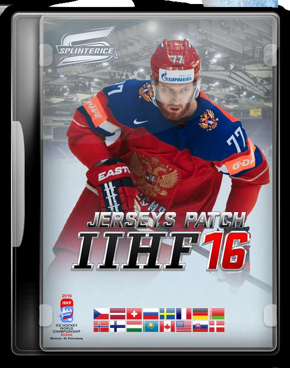 Патч Форм IIHF 2016
