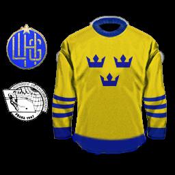 Torfs Сборная Швеции 1947 желтый.png
