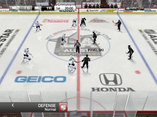 Скриншот для NHL All Star game 2017 Ice