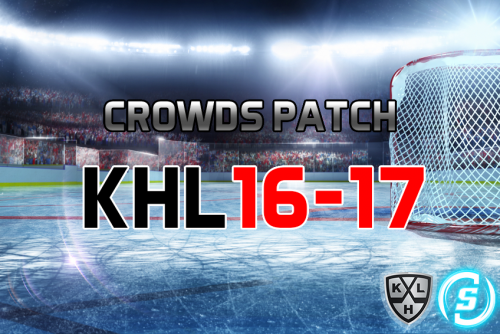 Скриншот для Crowds Patch KHL 2016-17 (For RHL)