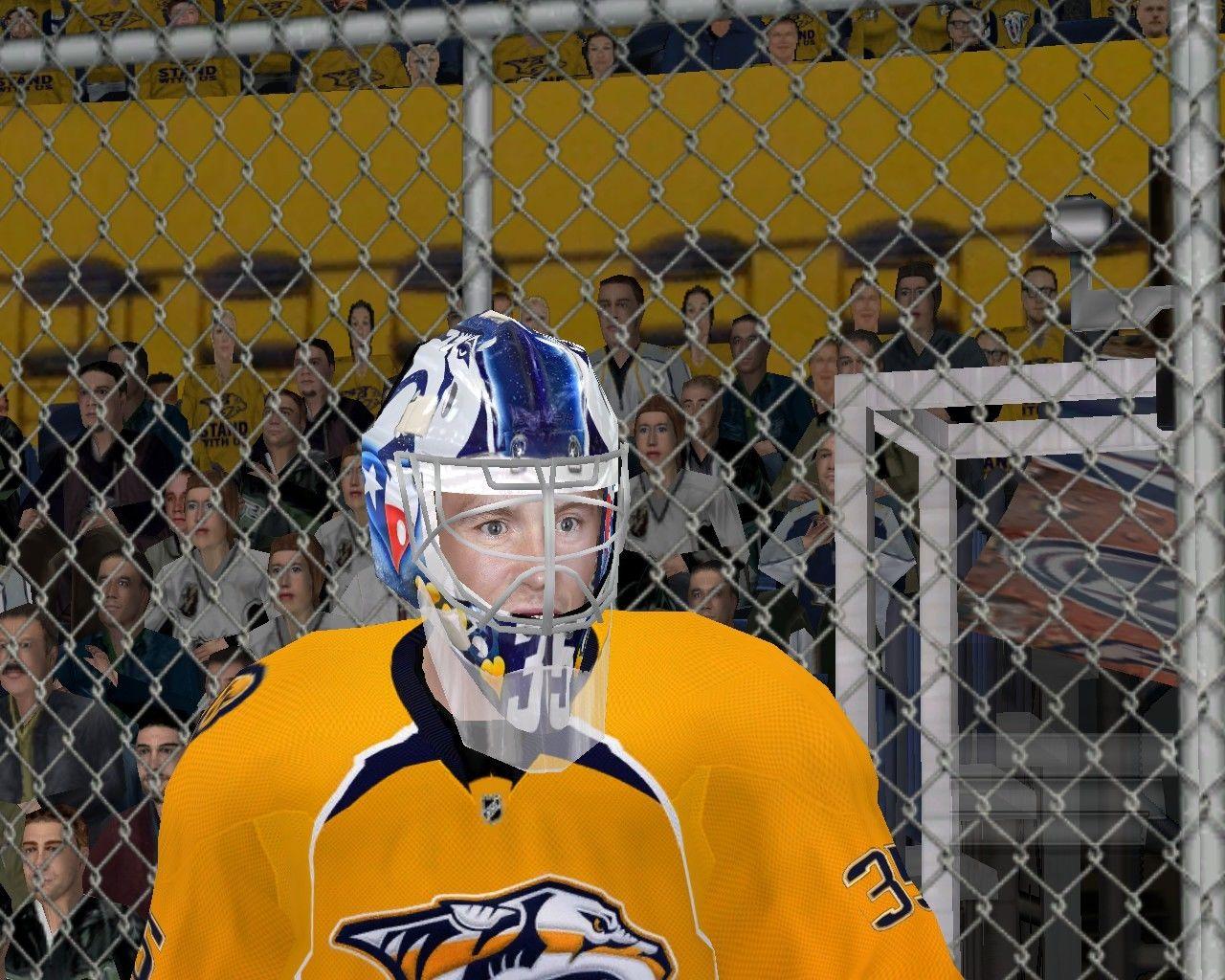 Goalie NSH Pekka Rinne 2017-18
