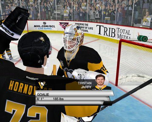 Скриншот для Goalie Tristan Jarry  Pittsburgh Penguins 2017