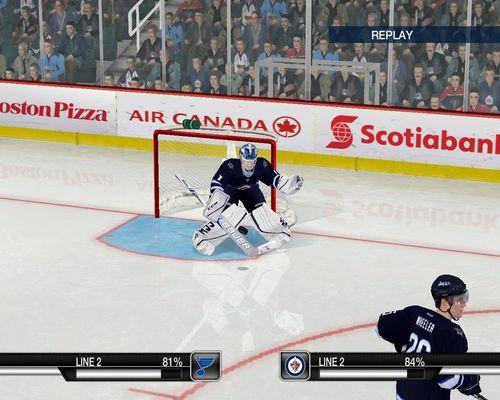 Скриншот для Goalie    Eric Comrie Winnipeg Jets   2017-18