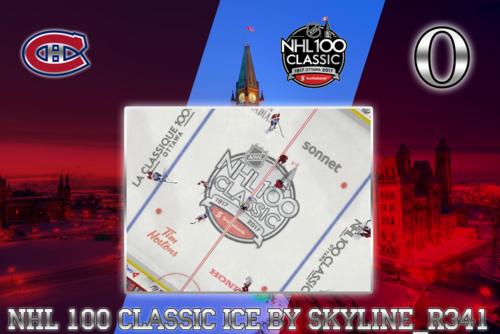 Скриншот для NHL 100 Classic Ice.