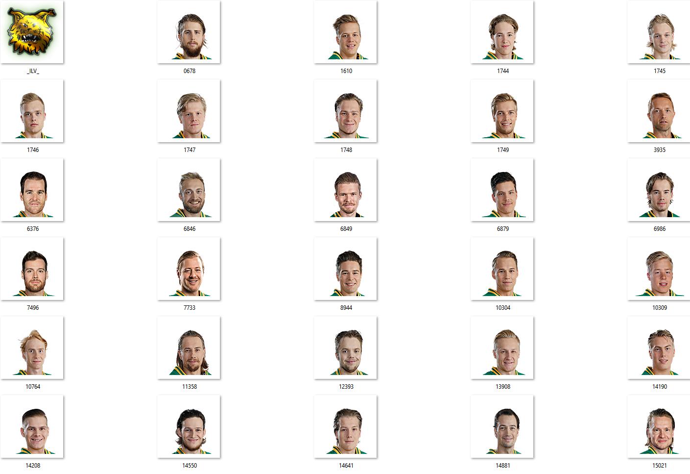 Ilves Facepack 2017-2018