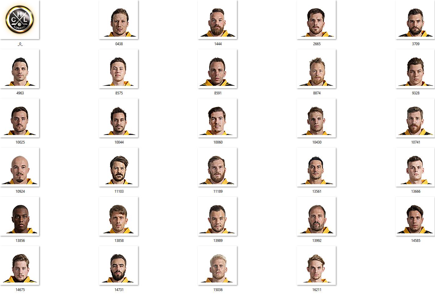 HC Lugano Facepack 2017-2018