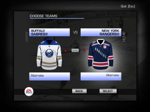 Скриншот для Winter Classic 2018 Jersey Pack