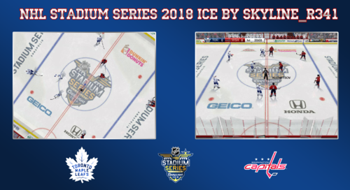 Скриншот для NHL Stadium Series 2018 Ice