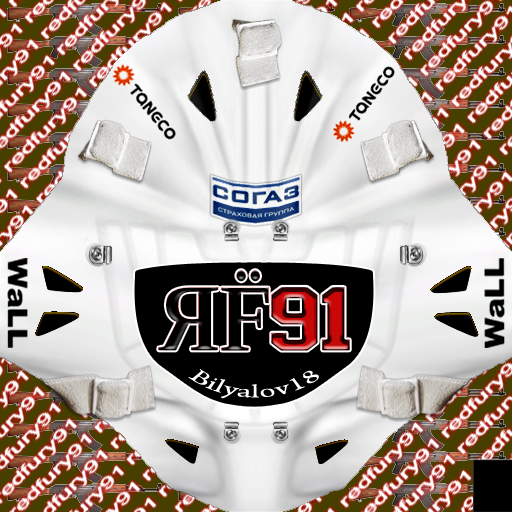 UPDATED KHL18 Ak Bars Kazan (PNG)Goalie Pack
