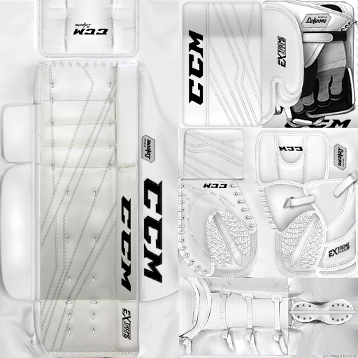 KHL18 CSKA Moscow (PNG)Goalie Pack
