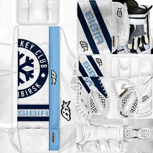 KHL18 Alexei Krasikov HC Sibir Novosibirsk(PNG) Gear Pack