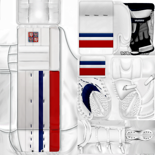 IIHF WC18: Czech Republic - Pavel Francouz (PNG)Gear Pack