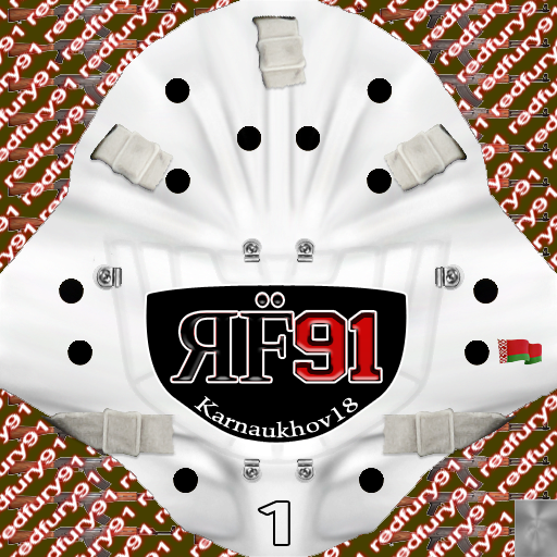 IIHF WC18: Belarus - Mikhail Karnaukhov (PNG)Gear Pack