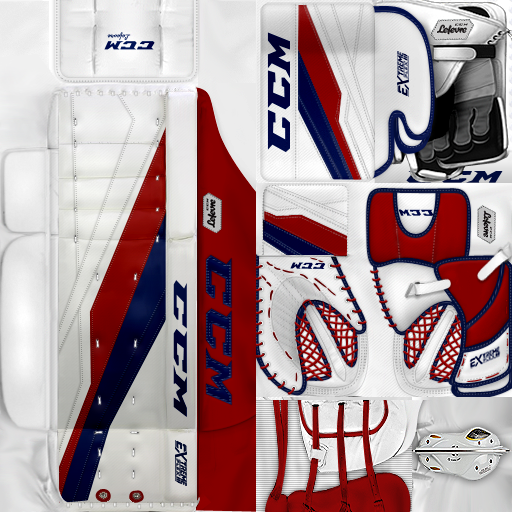 IIHF WC18: Czech Republic - David Rittich (PNG)Gear Pack
