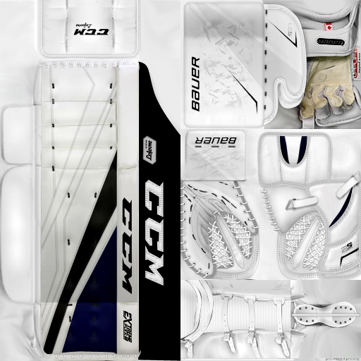 IIHF WC18: France - Ronan Quemener (PNG)Gear Pack