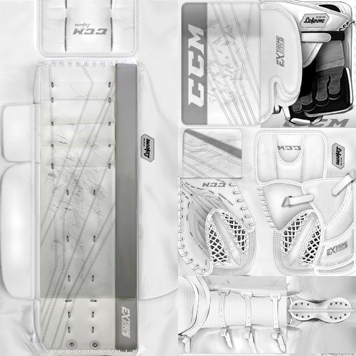 IIHF WC18: Germany - Niklas Treutle (PNG)Gear Pack