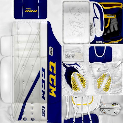 Скриншот для IIHF WC18: Austria - David Kickert (PNG)Gear Pack