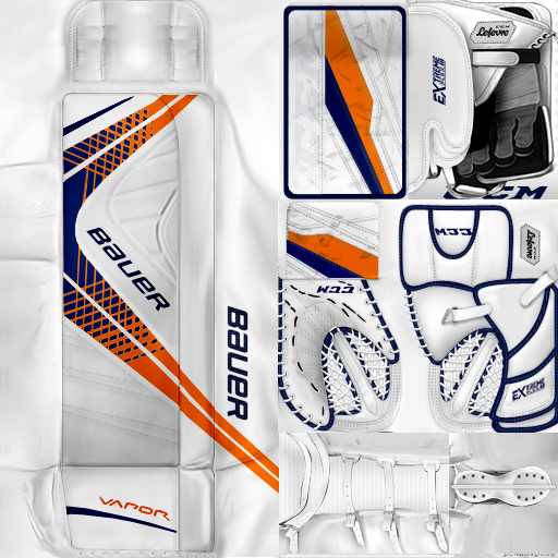 IIHF WC18: Latvia - Kristers Gudlevskis (PNG)Gear Pack