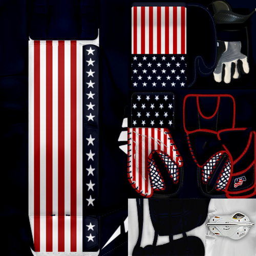 Скриншот для IIHF WC18: USA - Scott Darling (PNG)Gear Pack
