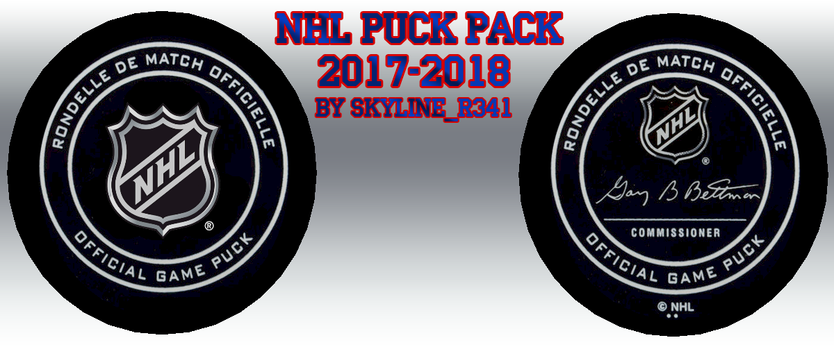NHL Puck Pack 2017-2018 by Skyline_r341