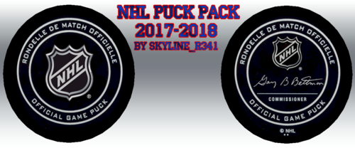 Скриншот для NHL Puck Pack 2017-2018 by Skyline_r341