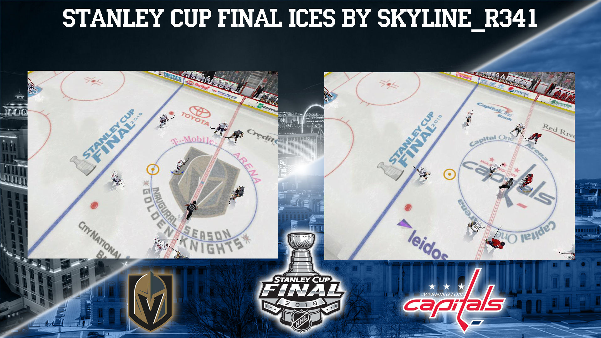 NHL Stanley Cup Final 2018 Ices