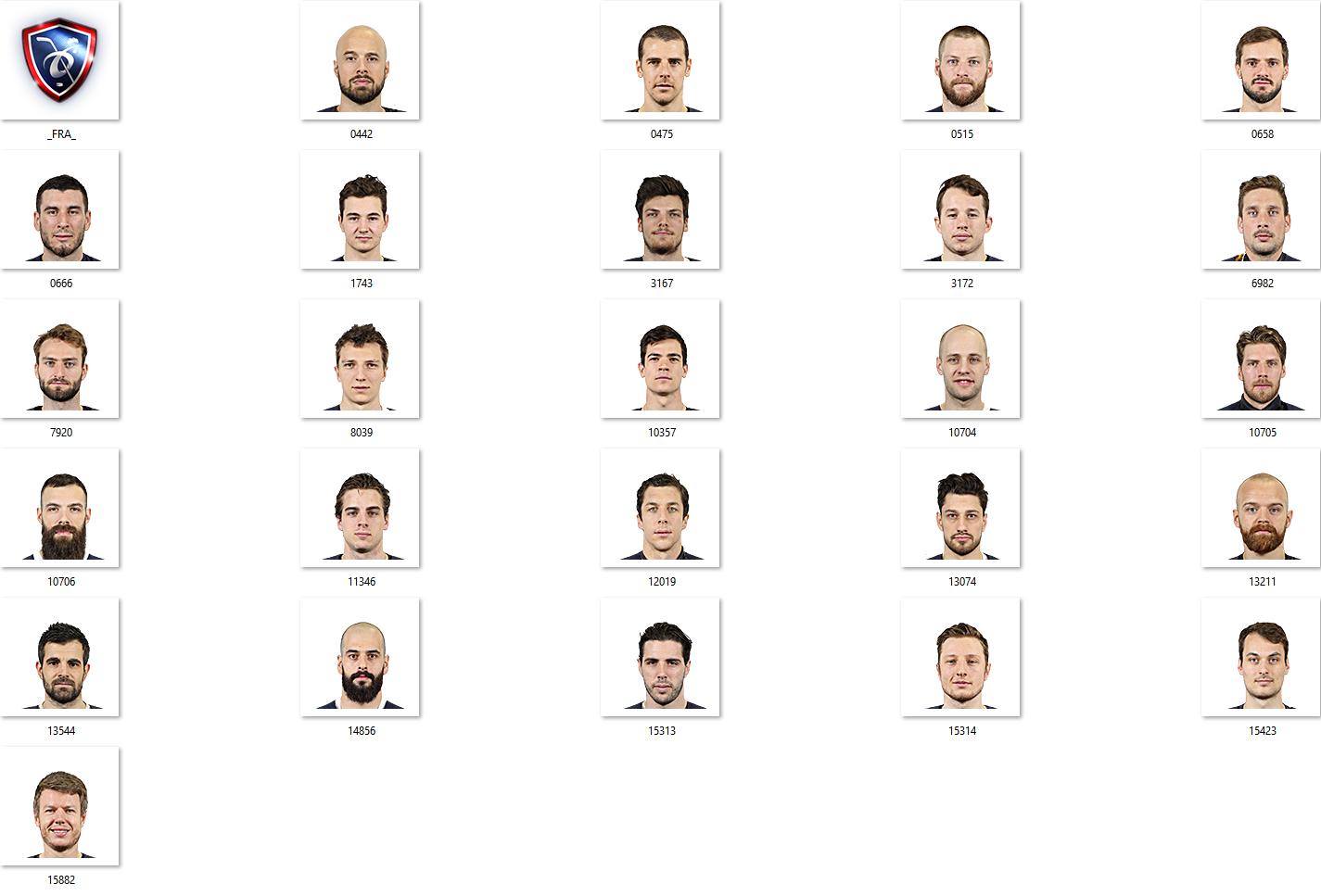 IIHF 2018 FRA Facepack