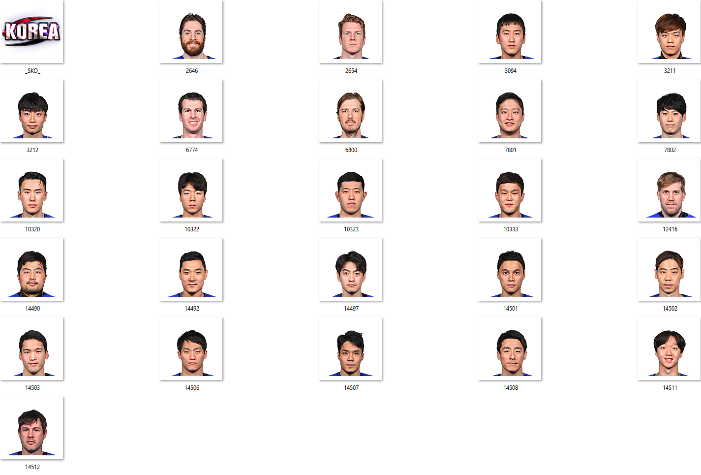 IIHF 2018 South Korea Facepack