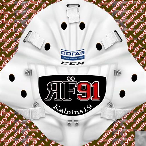 KHL Helsingin Jokerit Jānis Kalniņš (PNG) Goalie Pack