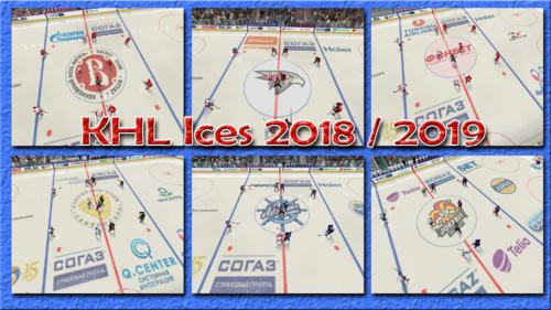 Скриншот для KHL Ices 2018 / 2019