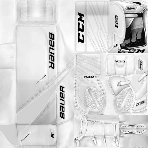 KHL Dinamo Riga Kristers Gudļevskis (PNG) Gear Only