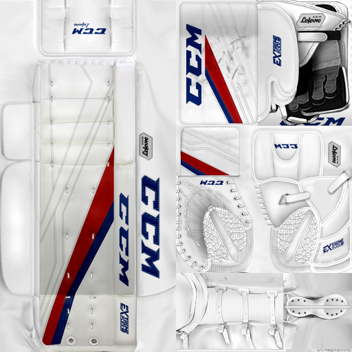 KHL ЦСКА Moscow Lars Johansson (PNG) Gear Pack