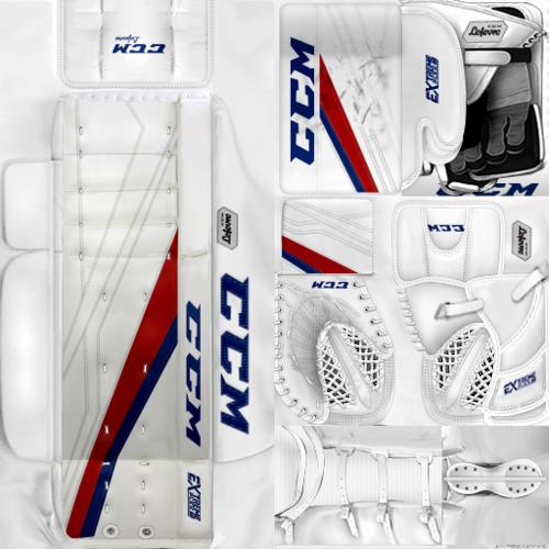 Скриншот для KHL ЦСКА Moscow Lars Johansson (PNG) Gear Pack