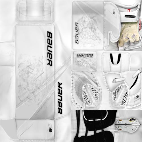 Скриншот для KHL ЦСКА Moscow Ilya Sorokin (PNG) Gear Pack
