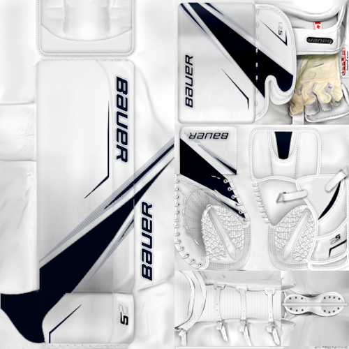 Скриншот для KHL Barys Astana Henrik Karlsson(PNG) Gear Pack