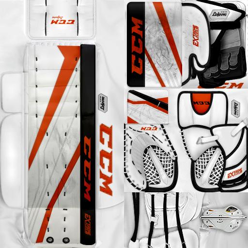 KHL Amur Khabarovsk Libor Kašík Gear Pack