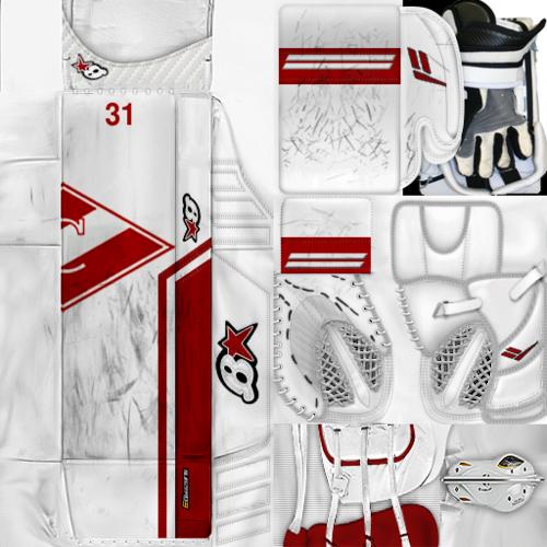 Скриншот для KHL Spartak Moscow Nikita Bespalov Gear Pack
