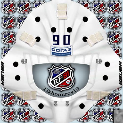 Скриншот для KHL Torpedo Nizhny Novgorod Andrei Tikhomirov Goalie Pack