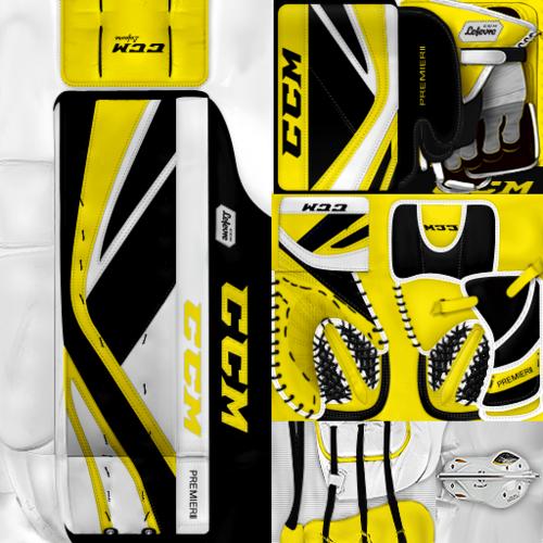 Скриншот для KHL Severstal Cherepovets Alexei Artamkin Gear Pack