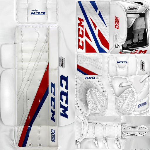 UPDATED KHL ЦСКА Moscow Lars Johansson Pads