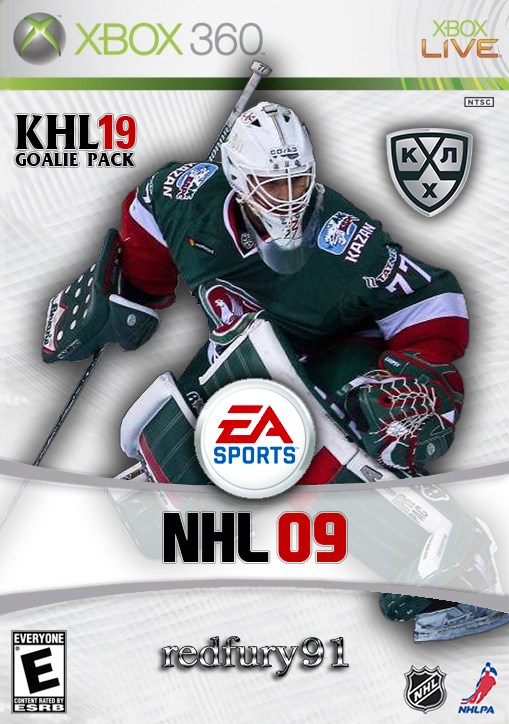 KHL19 (PNG) Goalie Pack