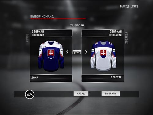 Screenshot for Jerseys team Slovakia IIHF 2018