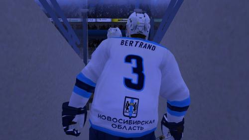 Комплект форм ХК Сибирь (Новосибирская область) сезона КХЛ