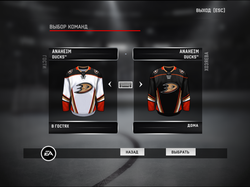 Jerseys team  Anaheim Ducks NHL season 2020-21