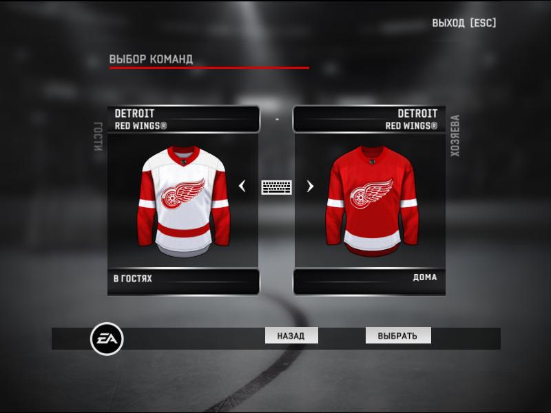 Jerseys team Detroit Red Wings NHL season 2020-21