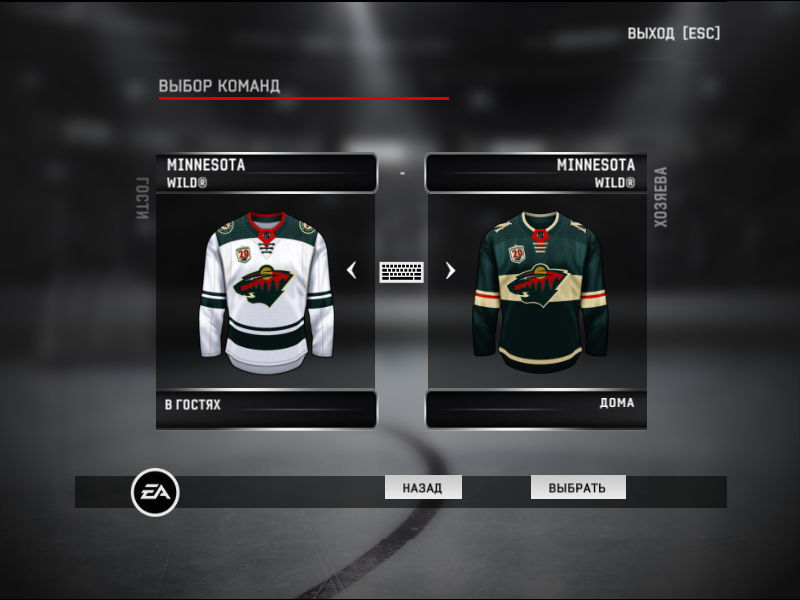 Jerseys team Minnesota Wild NHL season 2020-21